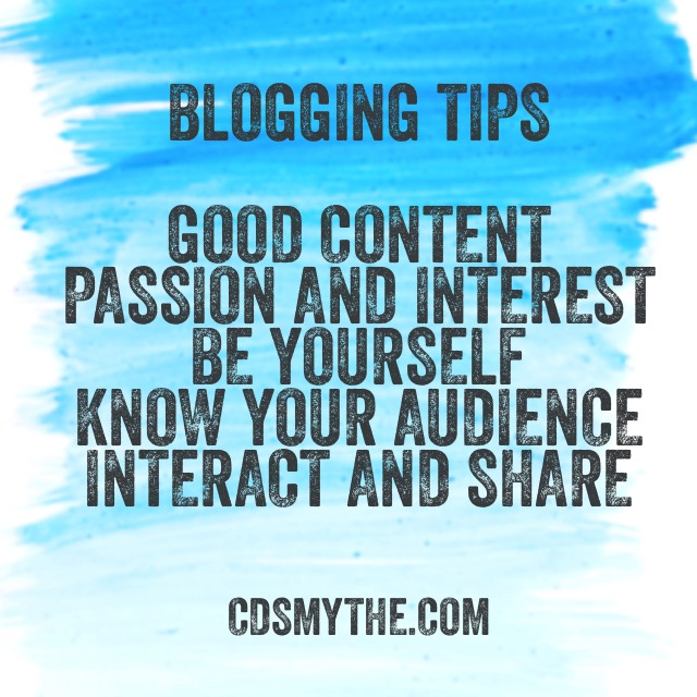 Blog tips - cdsmythe.com