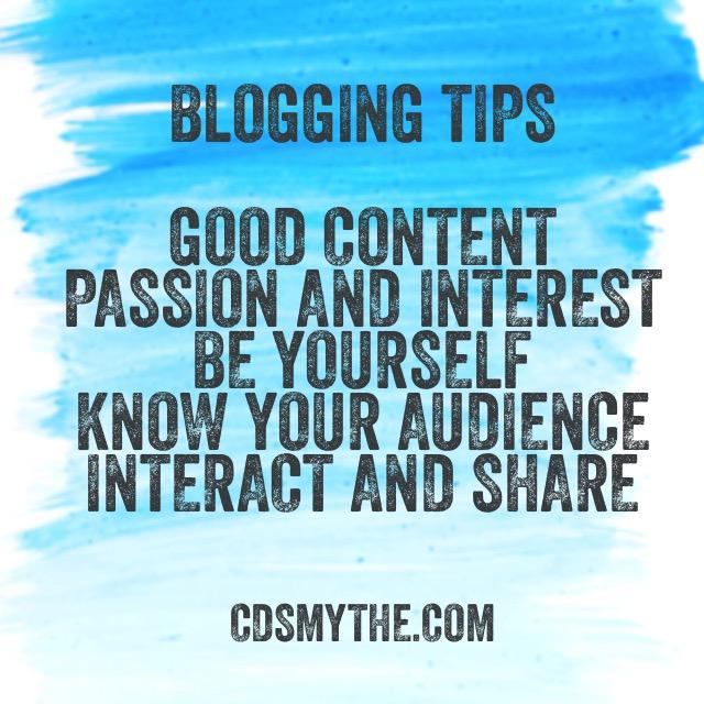 Blog tips - cdsmythe.com