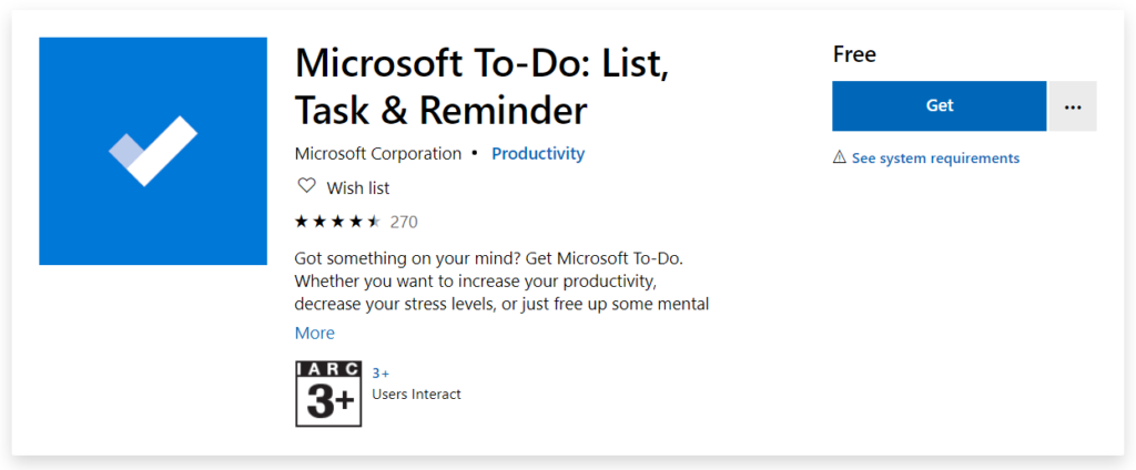 manage tasks with microsoft to-do